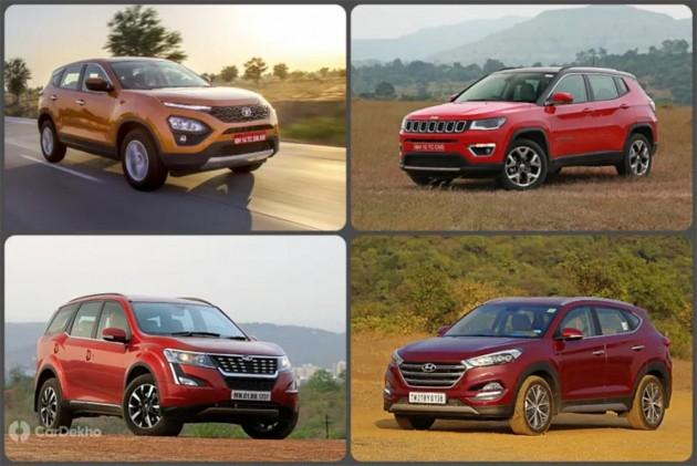 Cars In Demand: Tata Harrier, Mahindra XUV500 Most Popular SUVs In Segment