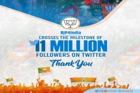 BJP Writes 'Thank You' After Party Crosses 11 Million Followers On Twitter