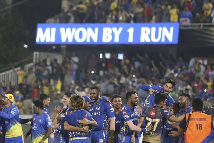 Ipl 2019 Final Mumbai Indians Vs Chennai Super Kings As It Happened