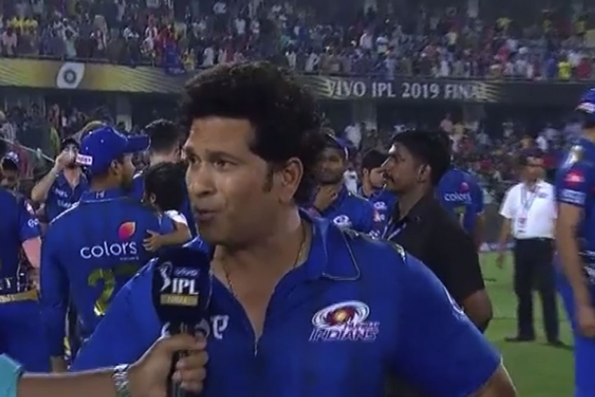 IPL 2019, MI Vs CSK: 'Icon' Sachin Tendulkar Picks Key Moment In Mumbai Indians' Unprecedented Fourth Title Win – VIDEO