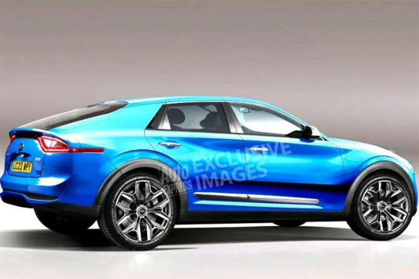 All-Electric Kia Coupe SUV In The Making!