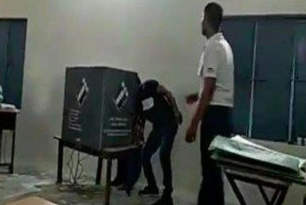 EC Orders Re-polling At Faridabad Booth After BJP Polling Agent Caught Trying To Influence Voters