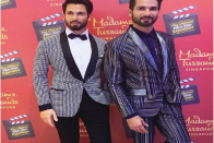 Shahid Kapoor Unveils His Wax Statue At Madame Tussauds In Singapore