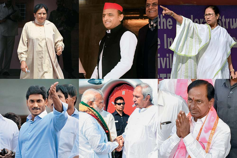 Kaun Banaega Sarkar? In Absence Of Majority, How Regional Leaders Will Play Kingmaker