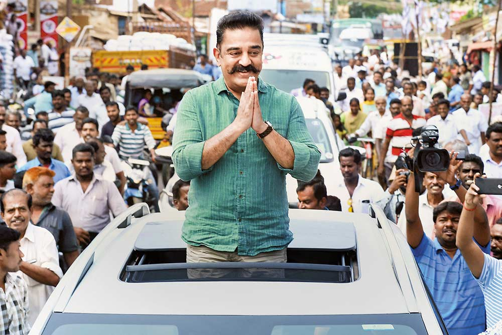 Political Spoilsport Or A Serious Rival? DMK, AIADMK See Men Like Kamalahaasan As Khalnayaks