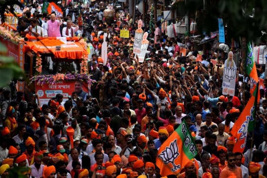 Secularism Exits Bengal As BJP's Hard Hindutva And Mamata's Soft Hindutva Clash