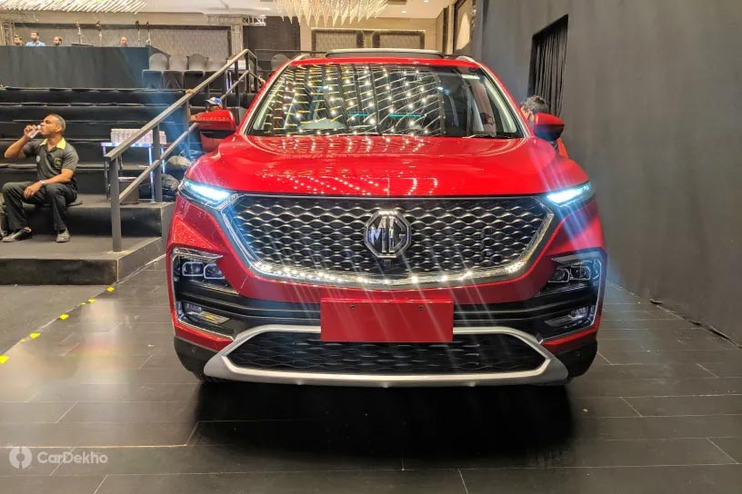 Mg Hector In Pics Looks Interior Features More