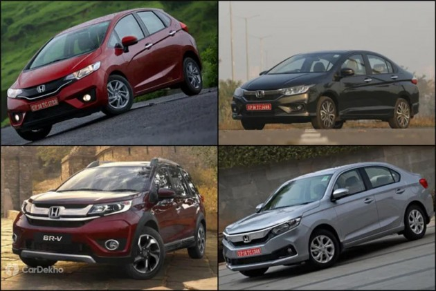 Honda Cars Available With Benefits Of Upto Rs 1 Lakh