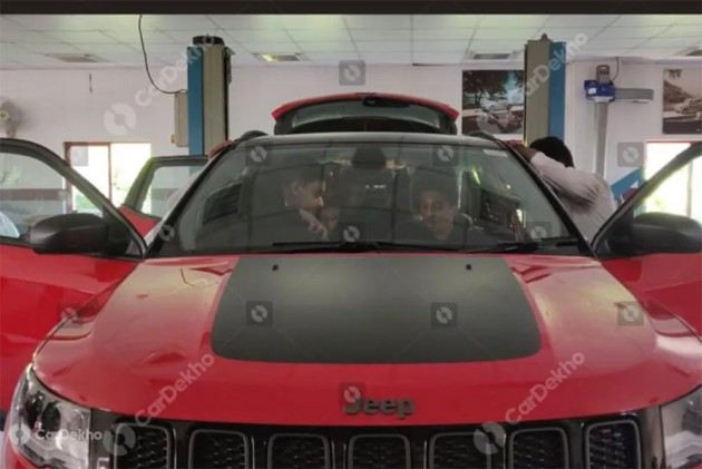 Jeep Compass Trailhawk Spied Inside Out