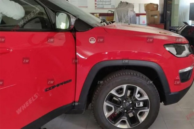 Jeep Compass Trailhawk Reaches Dealerships