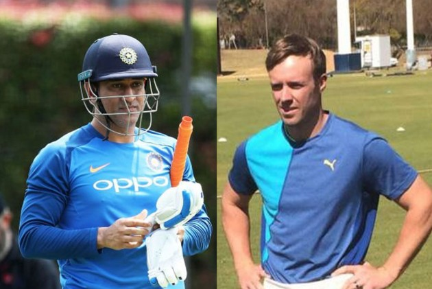MS Dhoni Gets 2023 Cricket World Cup Challenge From Former South Africa Captain AB De Villiers