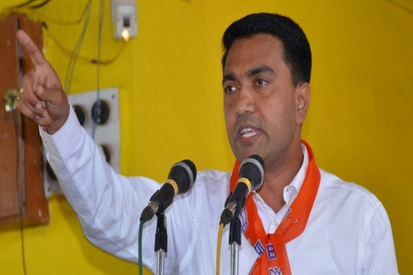 Congress Demands Goa CM Pramod Sawant's Resignation