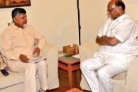 Chandrababu Naidu Meets Sonia Gandhi After Holding Talks With Sharad Pawar, Rahul Gandhi