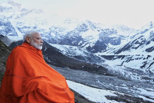 'Serene And Spiritual', PM Modi Prays At Badrinath Temple, Meditates