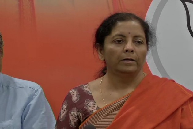 Nirmala Sitharaman Demands Deployment Of Armed Forces Till Poll Code Ends