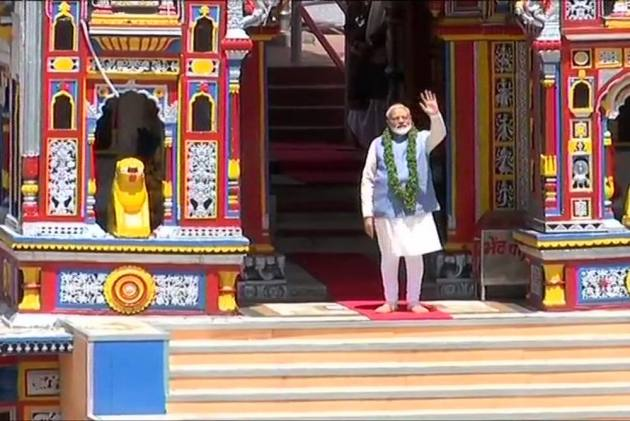PM Modi Prays For Whole Humankind, Thanks EC For Allowing Kedarnath Visit