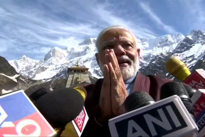 Oppn Parties Write To EC On PM Modi's Kedarnath Visit, Say Violation Of Poll Code