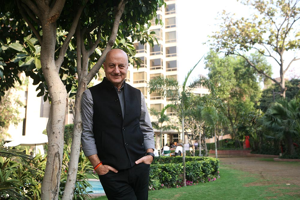 It's An ­Int­olerant Gang That Says Don't Vote For A Party: Anupam Kher