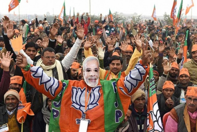 Lok Sabha Elections: Buoyed By Exit Poll Predictions, BJP Workers Gear Up For Big Celebrations On May 23