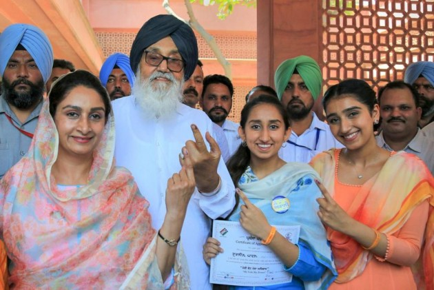 Akali Dal Chief Sukhbir's Daughter, First Time Voter, Gets Notice For Wearing Party Badge