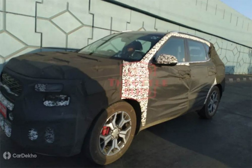 Kia SP2i Interior Spied For The First Time
