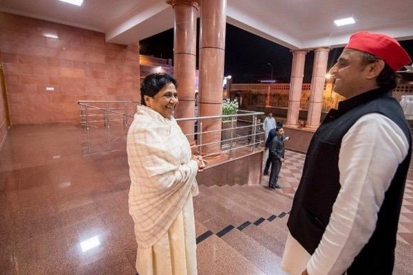 After Exit Polls, Mayawati Meets Akhilesh, But No Meeting  With Congress