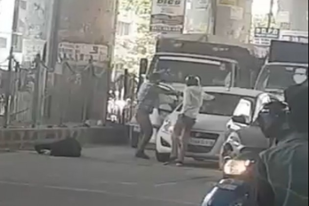 VIDEO: Two Suspected Criminals Shot Dead In Delhi's Dwarka