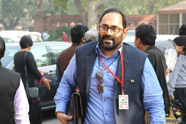 'Who Taught You Pathological Obsessive Lying Skills': BJP MP Rajeev Chandrasekhar On Rahul's Tribute To His Father