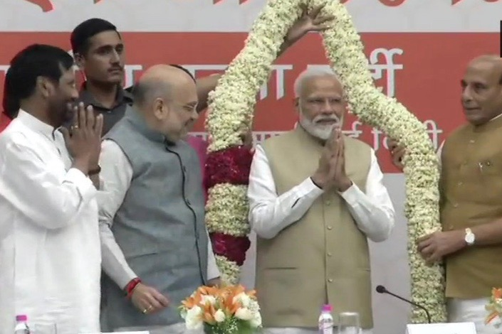 At NDA Meet, PM Narendra Modi Expresses Concern Over 'Needless Controversy' On EVMs