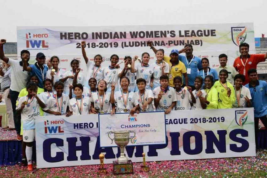 IWL 2018-19: Sethu FC Beat Manipur Police To Lift Maiden Indian Women's League Trophy