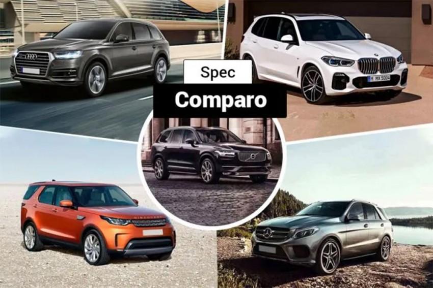 BMW X5 vs Rivals: Spec Comparison
