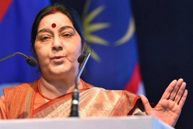 Sushma Swaraj Congratulates PM Modi For 'Big Victory'