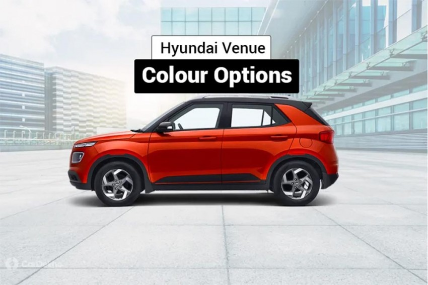 Hyundai Venue Available In Three Dual Tone Shade Options But There's A Catch