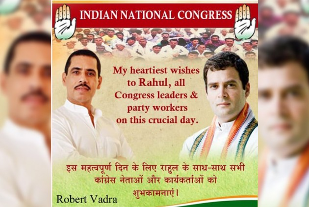 'With You All The Way, No Matter What': Robert Vadra Wishes Rahul Gandhi All The Best