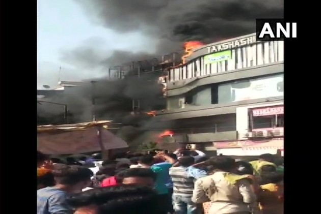 20 Students Of Coaching Class Killed As Massive Fire Engulfs Surat Building