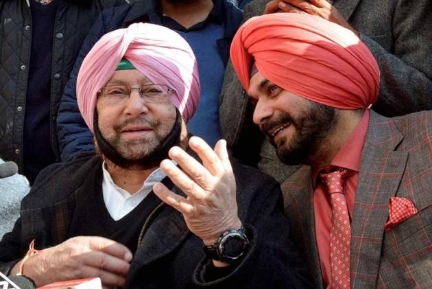 Navjot Singh Sidhu 'Inept', Intend To Change His Portfolio: Amarinder Singh