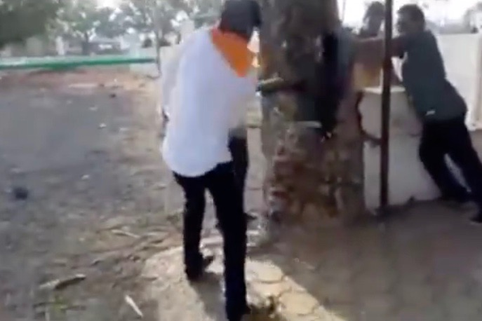Cow Vigilantes Thrash 2 Muslim Men, Woman For Allegedly Carrying Beef in Madhya Pradesh