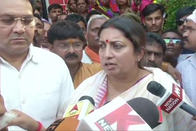 Smriti Irani Replies To Rahul Gandhi's 'Take Care Of Amethi' Remark, Urges BJP Workers To Exercise Restrain