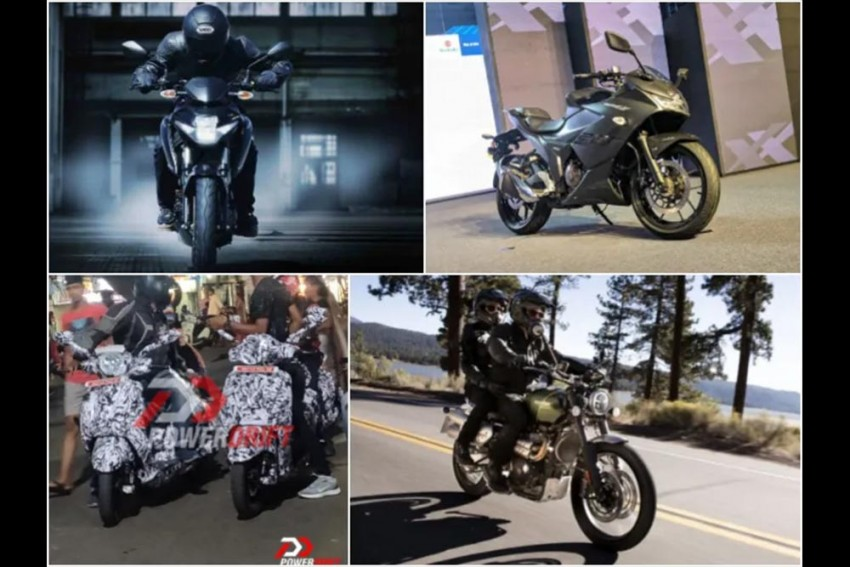 Top 5 Bike News Of The Week: Bajaj Scooter Spied, Suzuki Gixxer SF Siblings Launched, Harley-Davidson To Launch Sub-500cc Motorcycle & More!