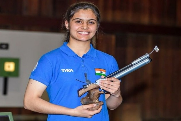 Manu Bhaker Secures Tokyo Olympics Quota In 10m Air Pistol