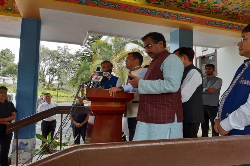 Pema Khandu Takes Oath As Arunachal Pradesh Chief Minister