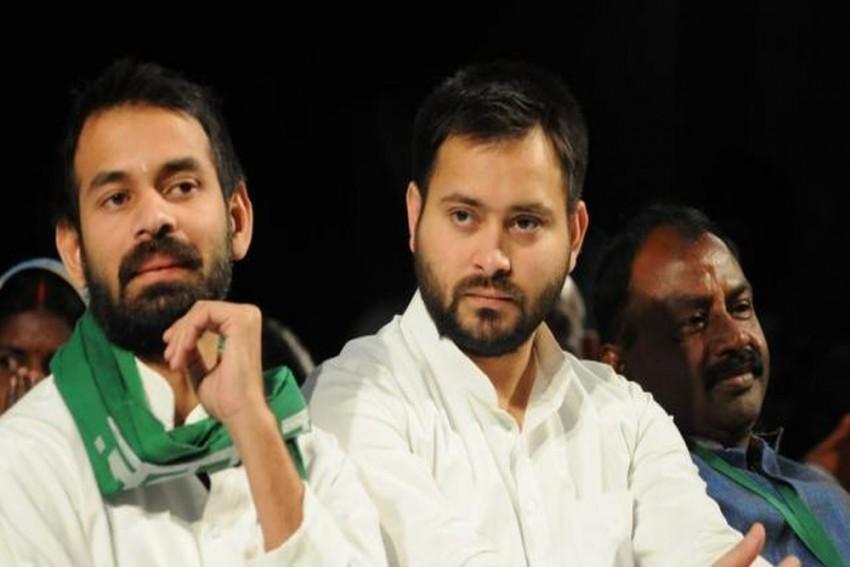 I Am With Tejashwi Like 'Krishna': Tej Pratap Yadav After Bihar Loss