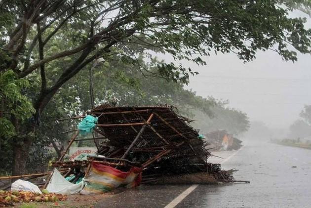 Three Killed As Cyclone Fani Strikes Odisha With 175 Kmph