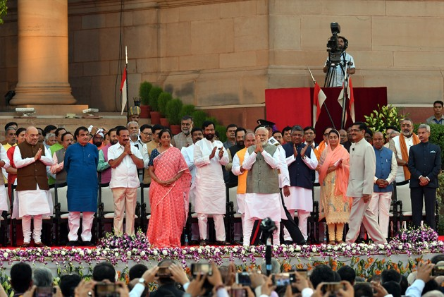Team Modi 2.0: Full List Of PM's Council Of Ministers