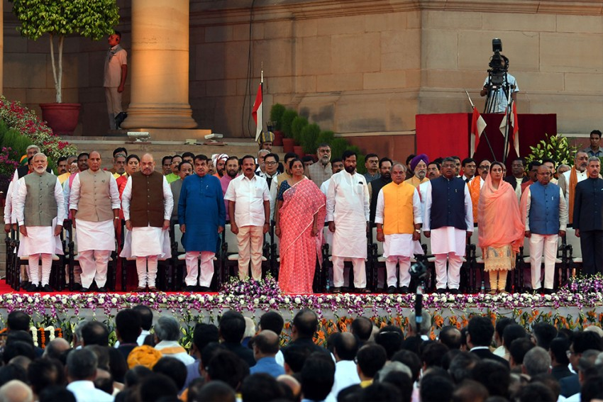 PM Narendra Modi Begins Second Term With 57 Ministers