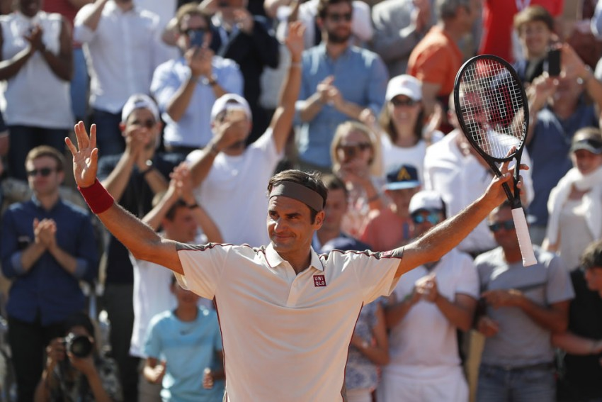French Open 2019: Roger Federer Downs Casper Ruud In 400th Grand Slam Singles Match