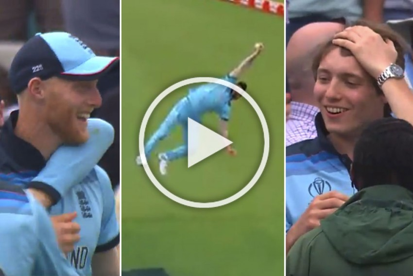 ICC Cricket World Cup 2019, ENG Vs SA: Just Impossible! Ben Stokes Takes Possibly The Greatest Catch Of All Time – WATCH