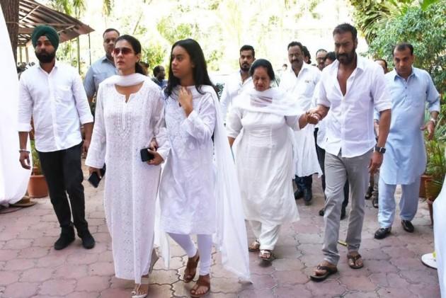 Celebrities Attend Veteran Action Director Veeru Devgan's Prayer Meet