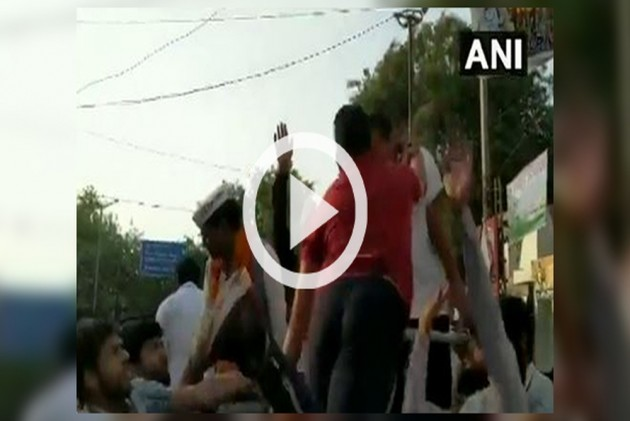 WATCH | Arvind Kejriwal Slapped During Campaign Rally In Delhi