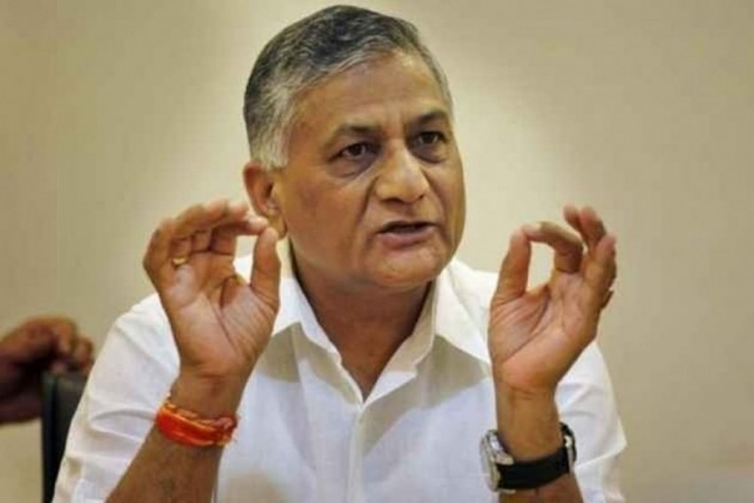 They Have A Habit Of Lying: VK Singh On Congress' Surgical Strike Claims